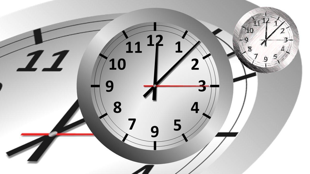 Uhr in Powerpoint erstellt